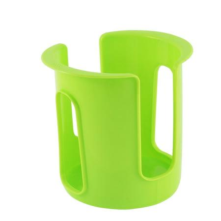 Kitchen Sink Dish Bowl Plastic Storage Hanging Drainer Holder Rack Green