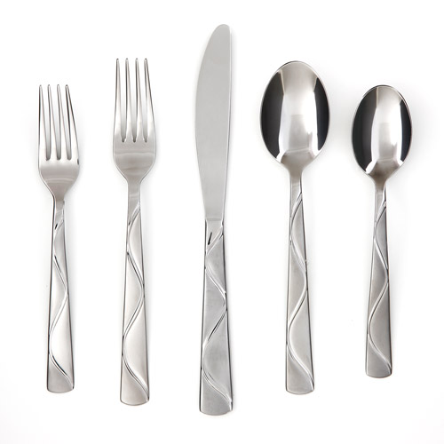 Cambridge Silversmiths Boa Frost 20-Piece Flatware Set by Cambridge Silversmiths LTD Inc