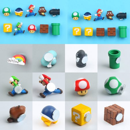 Mario Bros Characters (Hot Sale Cute Mini Figures Lot Super Mario Bros Figurine Kids)