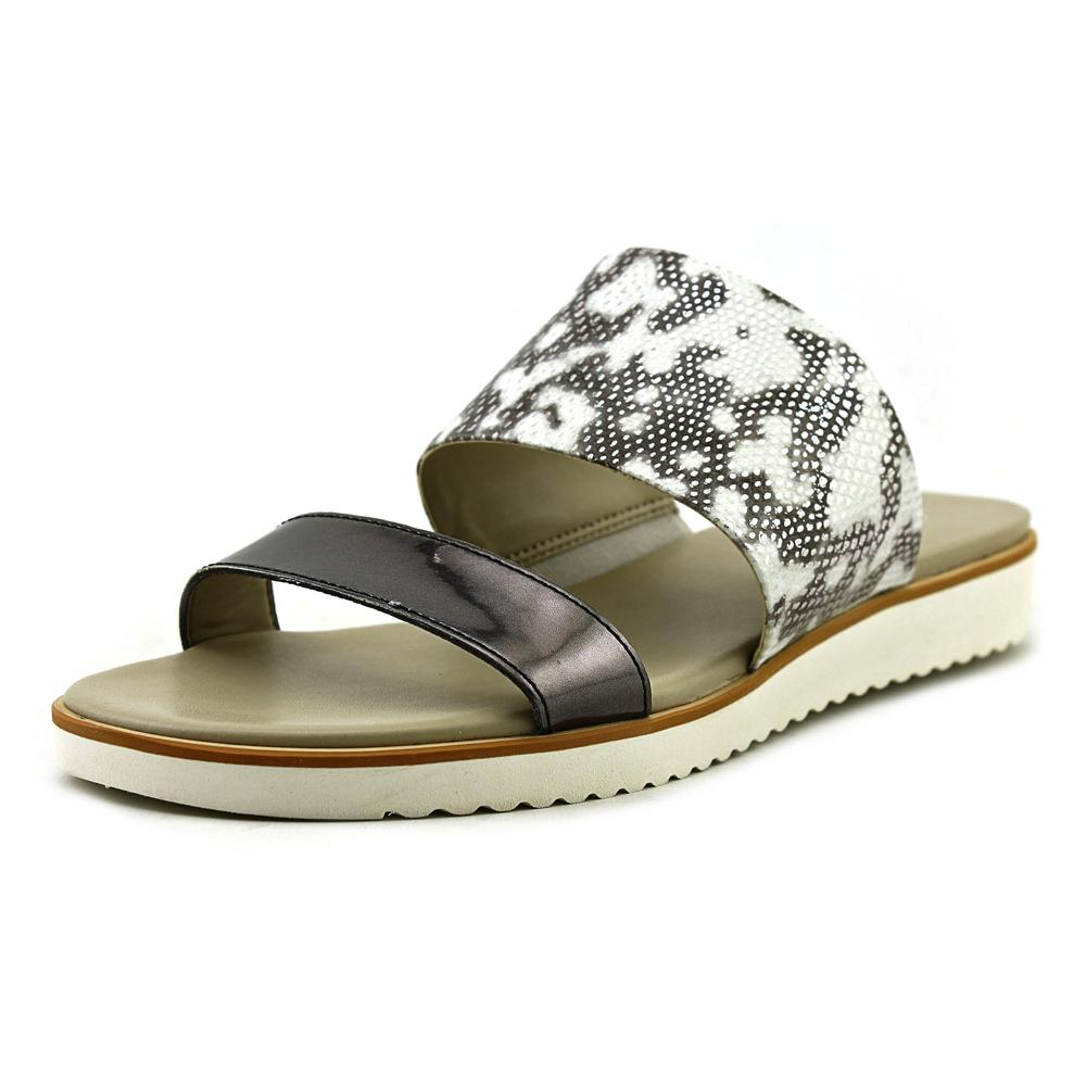 Franco Sarto Danara Open Toe Synthetic Slides Sandal by Franco Sarto