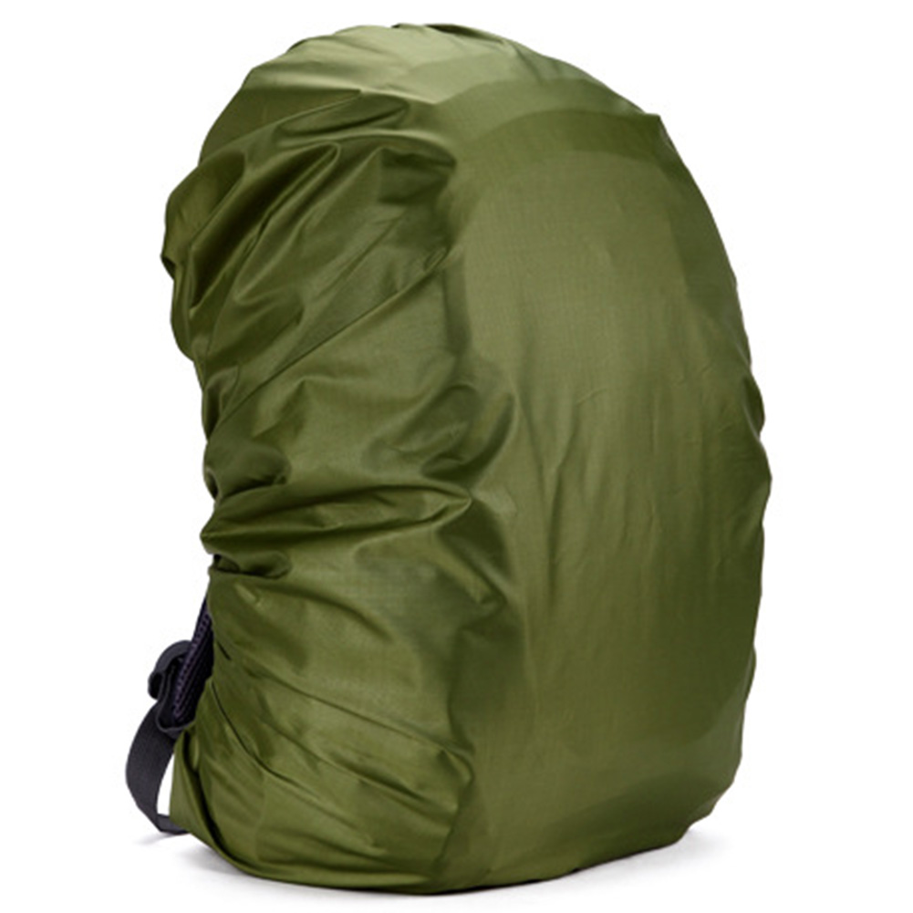 Waterproof Backpack Rain Cover Rucksack Raincover for Outdoor Camping Hiking Fishing Colour:Army green Size:35L