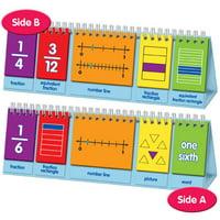 EAI Education Visual Fraction Model Flip Chart: Demonstration
