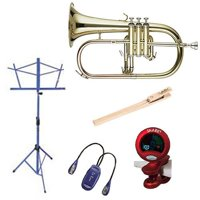 Band Directors Choice Lacquer Flugelhorn W/Accessories