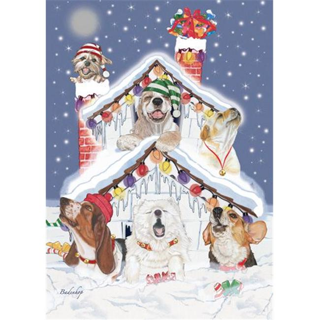 Pipsqueak Productions C532 Mix Dog  Holiday Boxed Cards