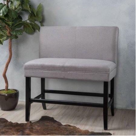 Khalil Upholstered Bar Stool Bench ()