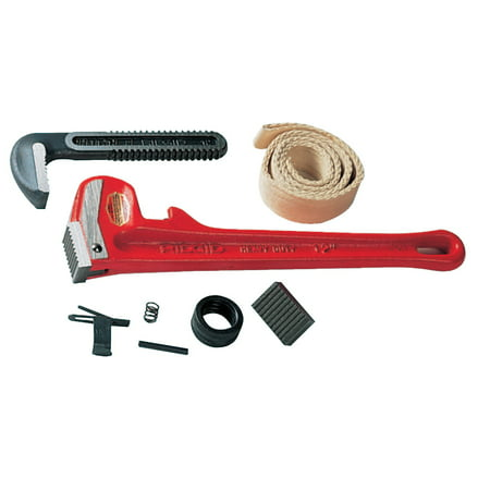 Pipe Wrench Parts - Ridgid Pipe Wrench Replacement Parts, Heel Jaw & Pin Assembly, Size 36