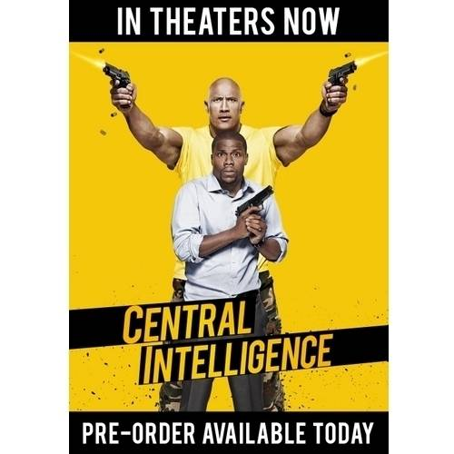 Central Intelligence (Blu-ray   DVD)