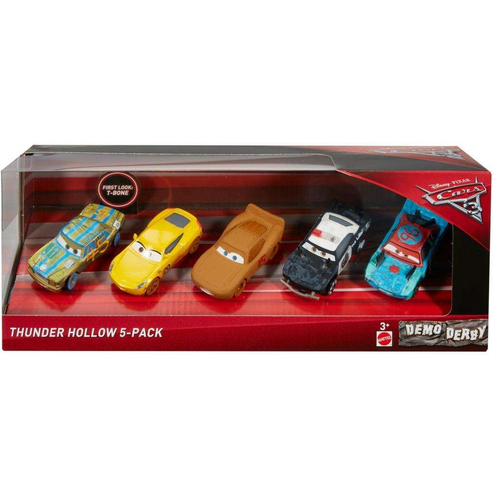 Disney Cars 3 Deluxe Die Cast Set Crazy 8 5-Piece Sonstige