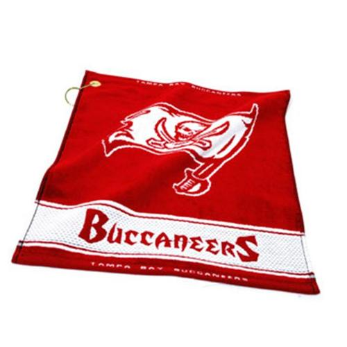 Team Golf 32980 Tampa Bay Buccaneers Woven Golf Towel