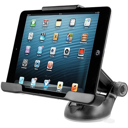 iOttie Easy Smart Tap Car and Desk Mount for Apple iPad mini, Black