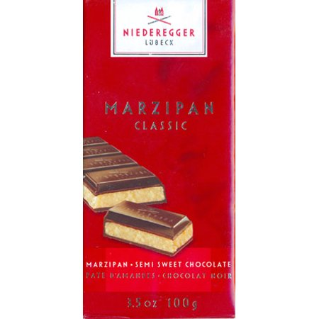 Niederegger Marzipan/Semi-sweet Chocolate Bar -