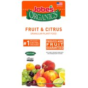 Jobes Organics Fruit and Citrus Granular Plant Food, 4lbs,3-5-5