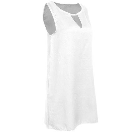 Women Plus Size Casual Dress Boho Sleeveless Halter Neck Party Tops Loose Summer Beach Dress S-5XL