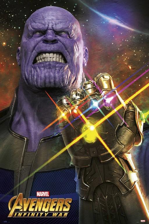 Art print POSTER Canvas Avengers Infinity War Movie 33