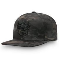Atlanta Reign Fanatics Branded Overwatch League Camo Flat Brim Snapback Hat - Black - OSFA