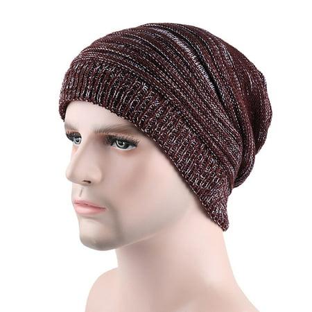 Hot Sale Fashion Men Casual Winter Warming Crochet Wool Knitted