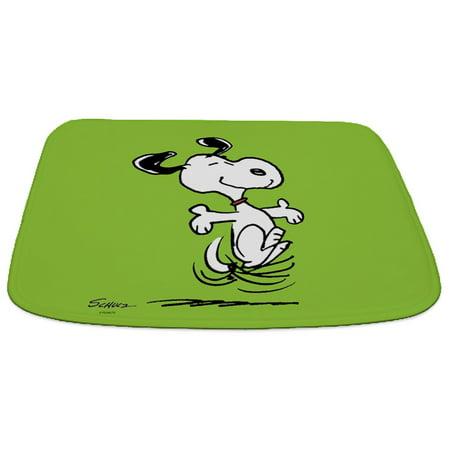 CafePress - Dancing Dog - Decorative Memory Foam Bath Rug/Mat