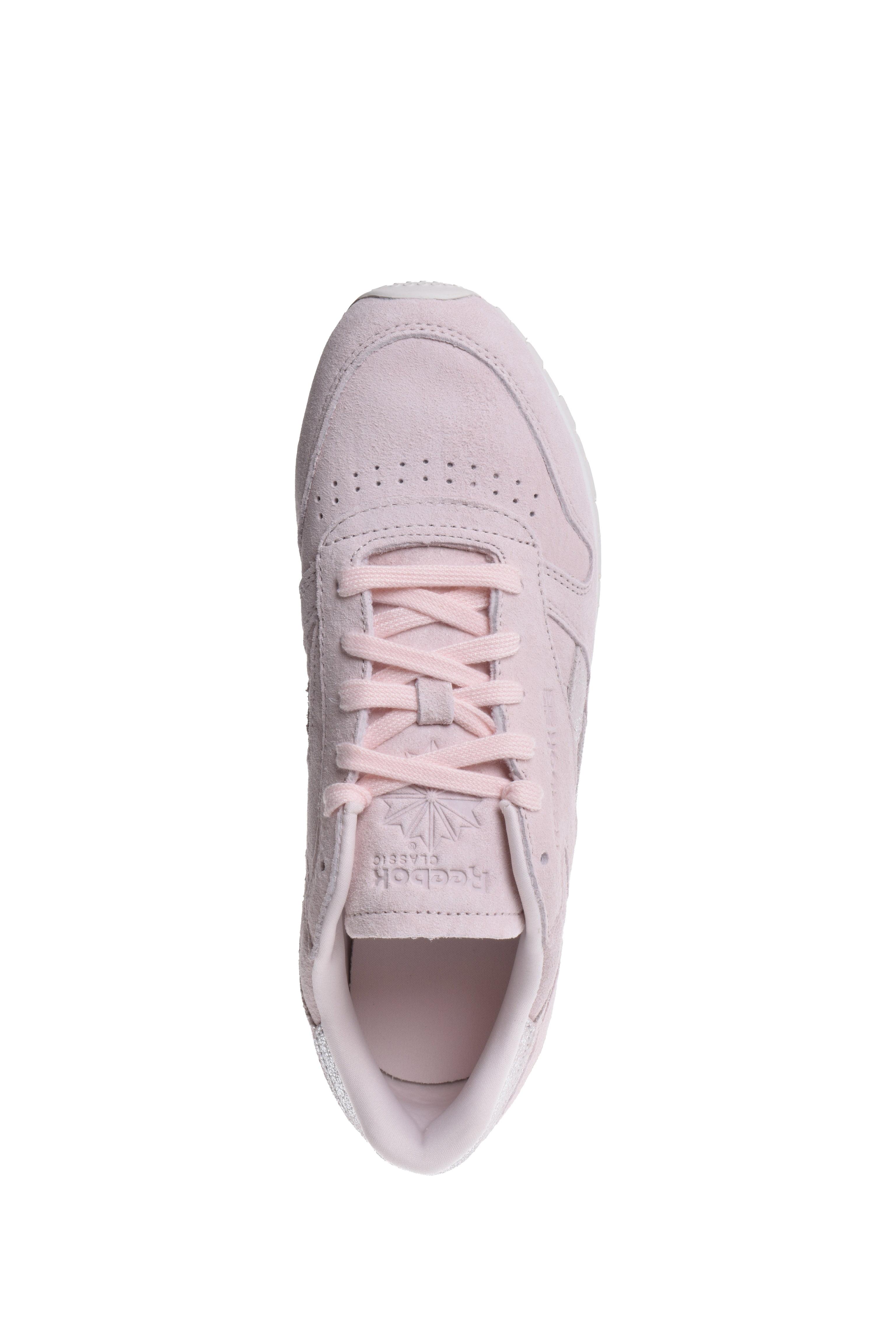 b3b8d025895 Reebok - Reebok Classic Leather Shimmer Pale Pink Chalk Women s Running  Shoes BS9865 - Walmart.com