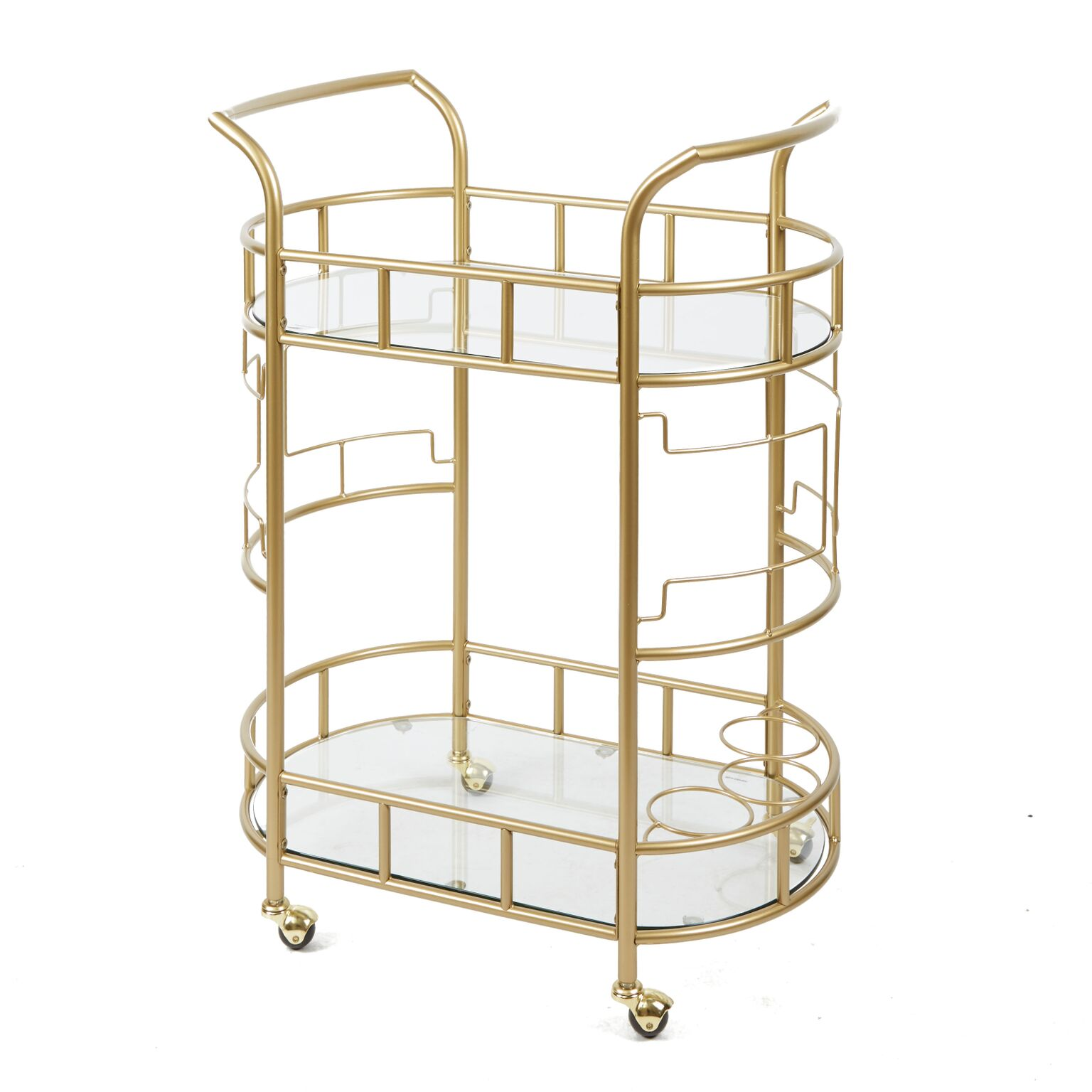 Jules Geometric Bar Cart
