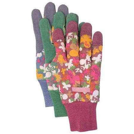 Boss Gloves Ladies Split Leather Palm Gloves (1 Pair)
