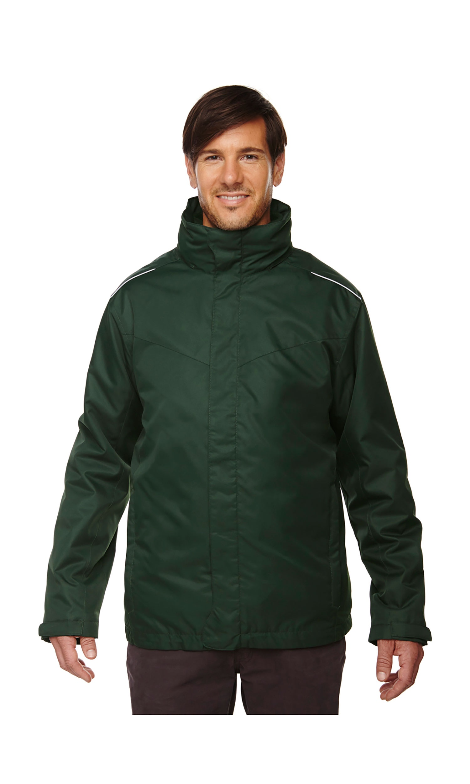Ash City Core 365 Region Mens 3-in-1 Jacket with Fleece Liner