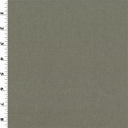 Slate Gray Lanai Bengaline Home Decorating Fabric, Fabric By the Yard