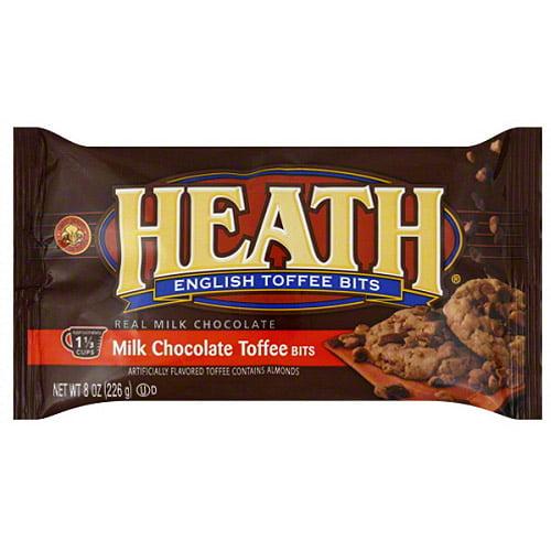Heath English Toffee Bits, 8 oz, (Pack of 12)