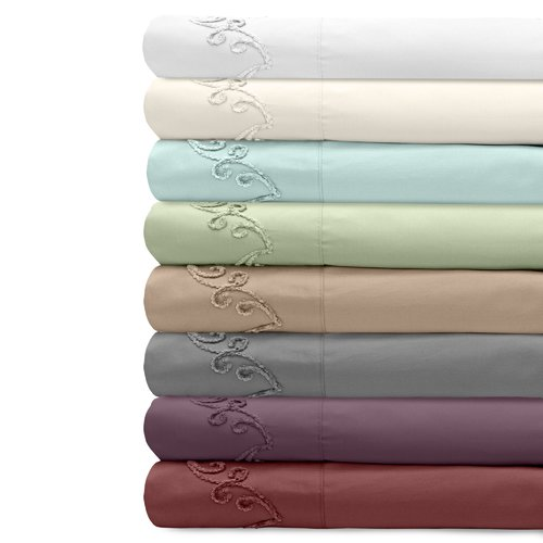 Veratex, Inc. Supreme Sateen 500 Thread Count Cotton Pillowcase (Set of 2)