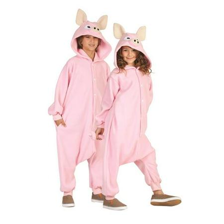 Penelope Pig Child Funsie Costume - Medium (Kids Pug Costume)
