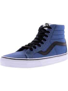 7e765942d1383c Product Image Vans Sk8-Hi Reissue Canvas Navy   Black Ankle-High  Skateboarding Shoe - 8M
