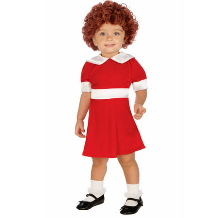Annie Red Dress Toddler - Orphan Annie Dress Costume
