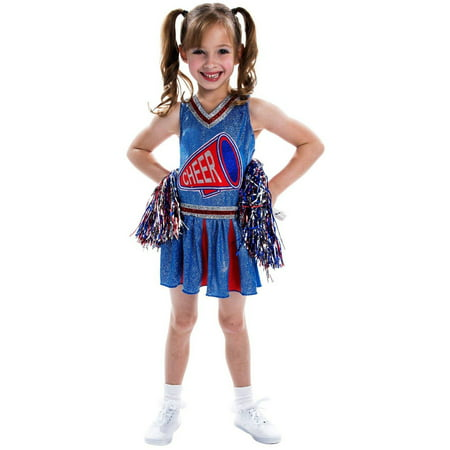 Cheerleader Child Halloween Costume - Spartan Cheerleaders Snl Costume