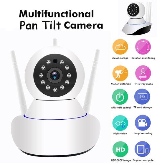 DIGOO/ AUGIENB 1080P Home Security IP Camera Wireless Smart WiFi Audio CCTV  Camera, Night vision,Two-way audio,APP Remote Wireless Surveillance