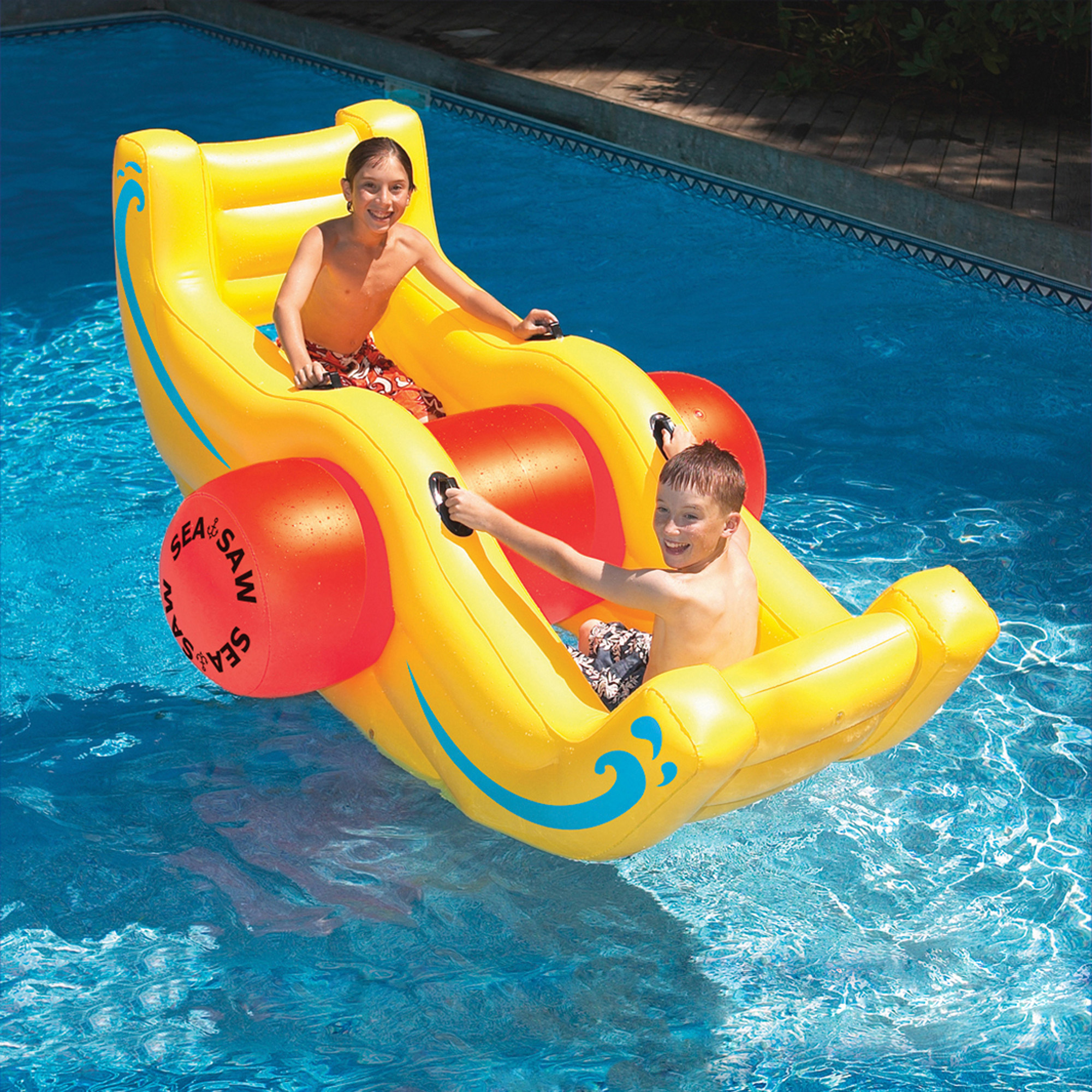 Swimline Sea-Saw Rocker Inflatable Pool Toy by Blue Wave