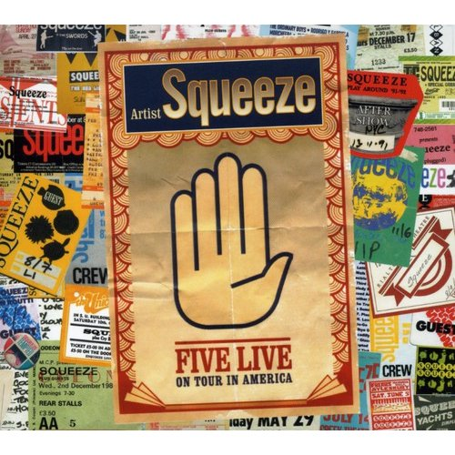 Squeeze - Five Live [CD]
