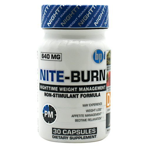 BPI Sports Nite Burn Nighttime Weight Management Formula, 30-Count (Pack of 2) by BPI