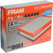 FRAM Extra Guard Air Filter, CA10083 for Select Hyundai Vehicles