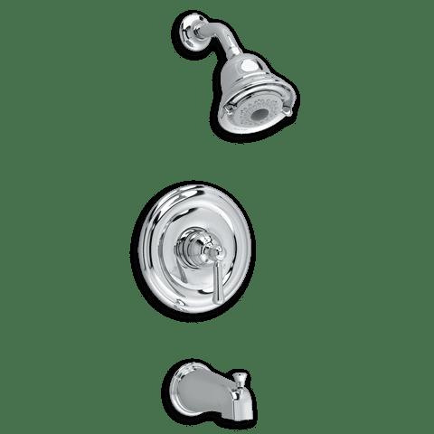 American Standard Portsmouth Bath & ShowerTrim Kit in Chrome