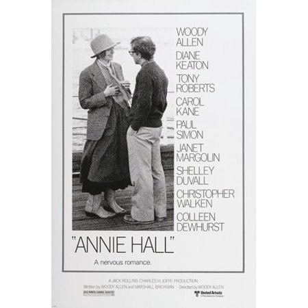 Annie Hall Movie Poster Diane Keaton Woody Allen Funny Quirky Ironic - Funny Female Movie Characters
