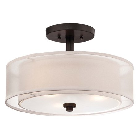 Charleston Semi Flush (Minka Lavery Parsons Studio Semi Flush Mount )