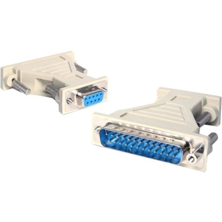 StarTech DB9 to DB25 Serial Cable Adapter F/M AT925FM ()