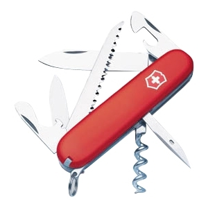 Victorinox 53301 Camper Swiss Army Knife - Red - Key Ring