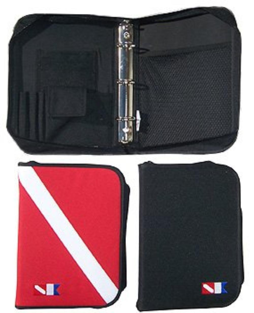 Dive Log Book 3 Ring Binder With Inserts. Dive Flag