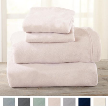 Frost Sheet (Maya Collection Extra Plush Polar Fleece Sheet Set By Home Fashion Designs)