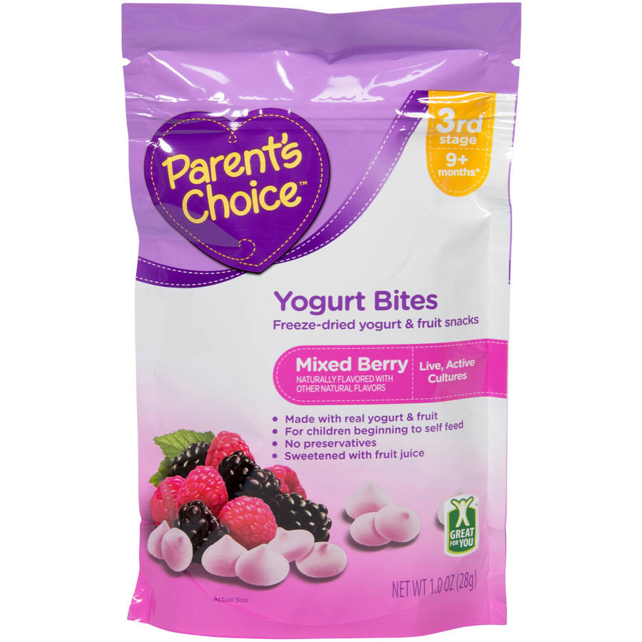 Parent's Choice Mixed Berry Yogurt Bites, 1 oz