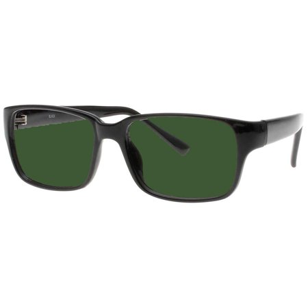 BoroView Shade #5 Brown Lens - Glass Working Spectacles in Black Unisex Plastic Frame - 54/38-19-140, Spring (Polycarbonate Lens Vs Plastic)