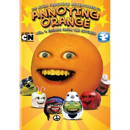 The High Fructose Adventures of Annoying Orange: Vol. 1 Escape from the Kitchen (DVD)