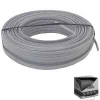 Romex 14/2UF-W/GX250 Type UF-B Building Wire, #14 AWG, 250 ft L, Gray Nylon Sheath