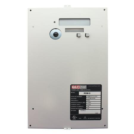 - Quadlogic RSM5C-2773200-3D 3-Phase kWH Demand Meter, 3200-Amp, 277/480V