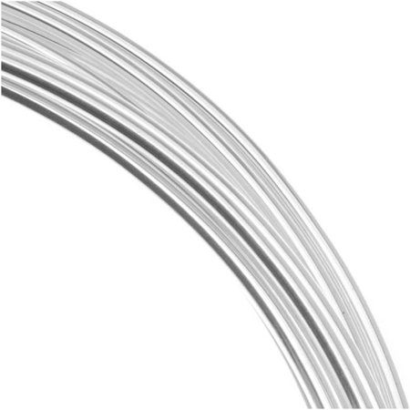 - Silver Plated Copper German Bead Wire Craft Wire 22 Gauge/.6mm (10 Meters / 32.8 Feet)